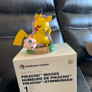 Sleepy pikachu moods 1st / 8 RARE pokemon toy